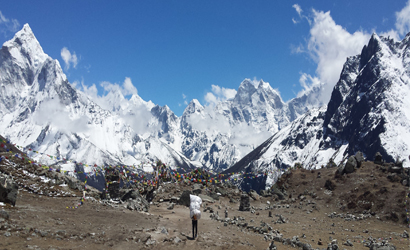 Gokyo and Cho La pass with Everest Base camp Trek