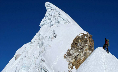 Lobuche  Peak (east via Everest Base Camp)